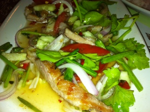 Pork Salad- Always a safe Paleo choice