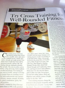 Lifting article for Men's Fitness RX