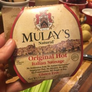 Mulay's Ground Hot Italian Sausage