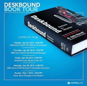 Deskbound Book Tour